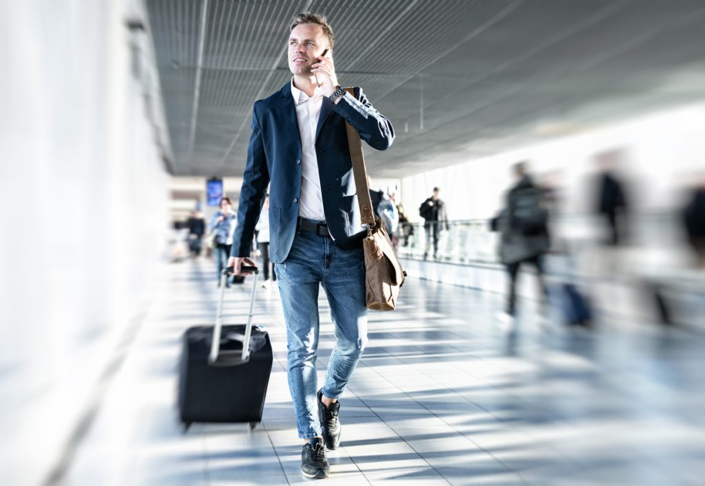 Businessman-airport