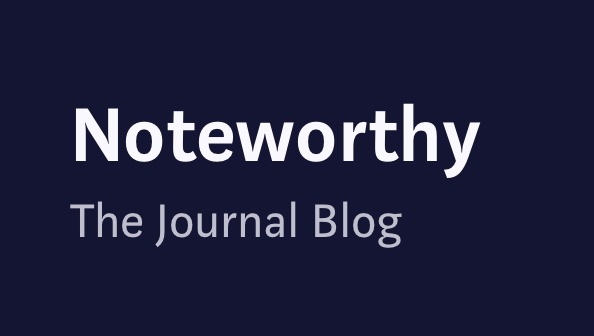 the noteworthy journal blog logo