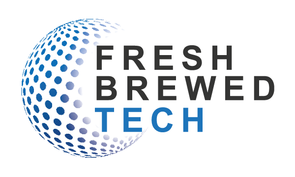 Fresh brewed tech logo